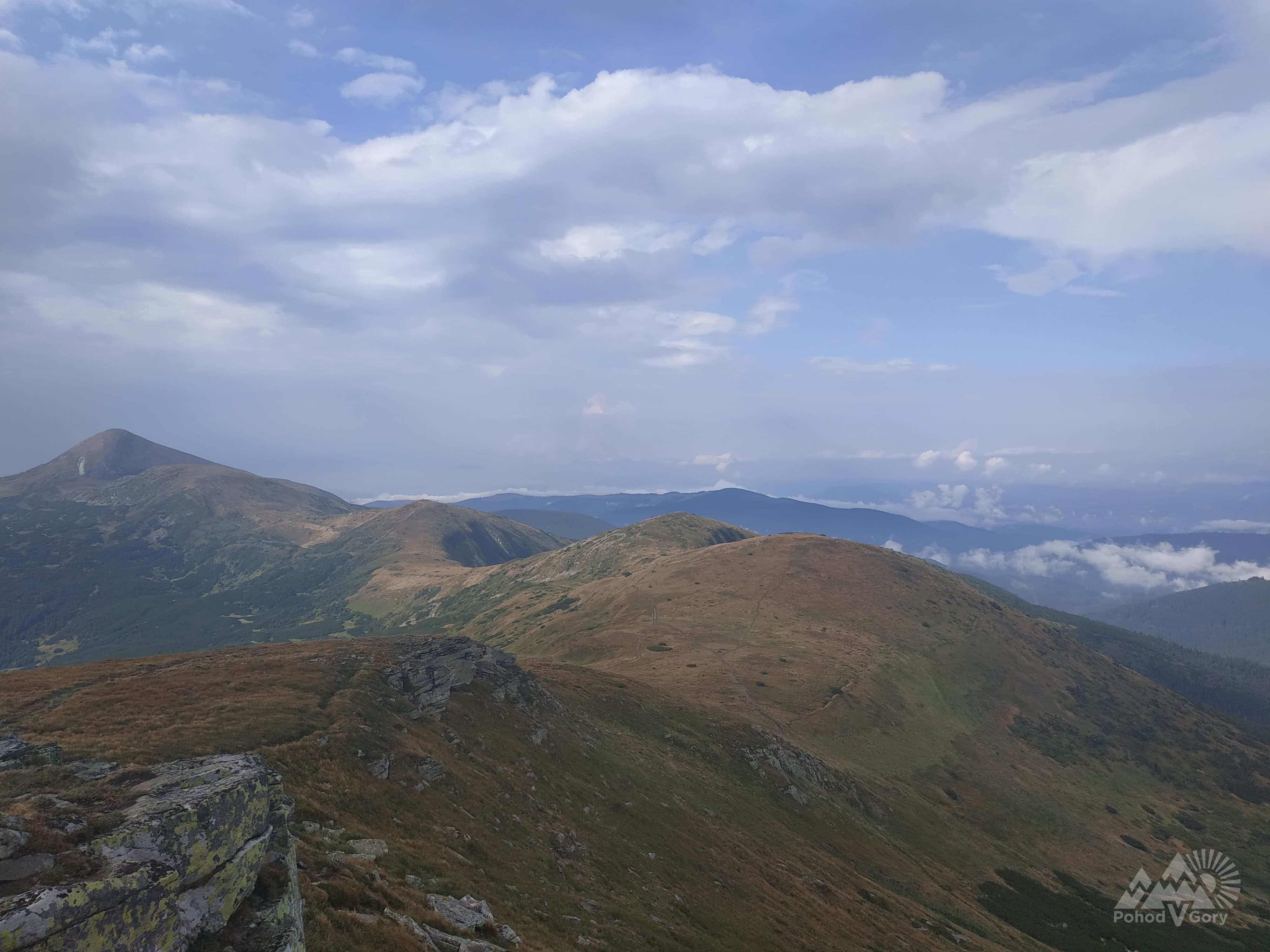 Mount Goverla in the Carpathians
